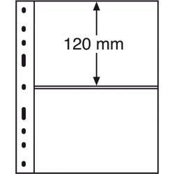 Leuchtturm OPTIMA bankjegytartó lap 2 részes