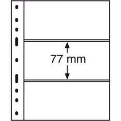 Leuchtturm OPTIMA bankjegytartó lap 3 részes