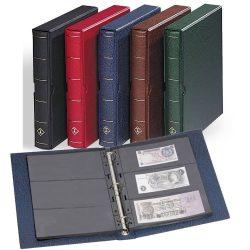 Leuchtturm VARIO F  album bankjegyekhez és védőkazetta