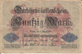 Németország 1914. 50 Mark-G