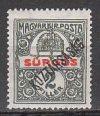 Magyarország-1918 sor-Köztársaság - Sürgős-UNC-Bélyegek