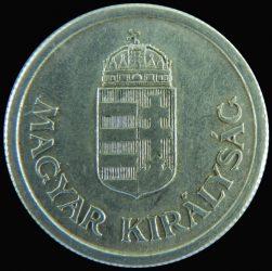 Magyarország-1941-1944-1 Pengő-Aluminium-VF-Pénzérme