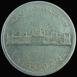 Magyarország-1945-5 Pengő-Aluminium-VF-Pénzérme