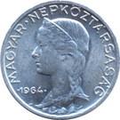 Magyarország-1953-1965-5 Fillér-Aluminium-VF-Pénzérme