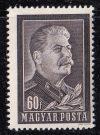 Magyarország-1953-Sztálin gyász-UNC-Bélyeg