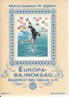 Magyarország-1963 blokk-Műkorcsolyázó és jégtánc EB-UNC-Bélyegek