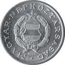 Magyarország-1967-1989-1 Forint-Aluminium-VF-Pénzérme