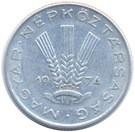 Magyarország-1967-1991-20 Fillér-Aluminium-VF-Pénzérme