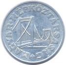 Magyarország-1967-1991-50 Fillér-Aluminium-VF-Pénzérme
