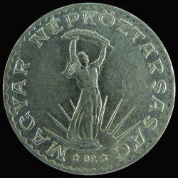 Magyarország-1971-1980-10 Forint-Nikkel-VF-Pénzérme