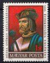 Magyarország-1972-Dózsa György-UNC-Bélyeg