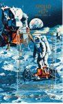 02.Magyarország-1973 blokk-Apollo 17-UNC-Bélyegek