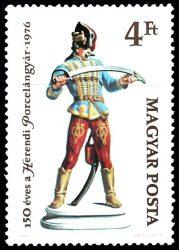 18.Magyarország-1976-150 éves a Herendi Porcelángyár-4Ft-UNC-Bélyeg