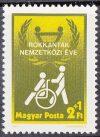 Magyarország-1981-Rokkantak Nemzetközi Éve-UNC-Bélyeg