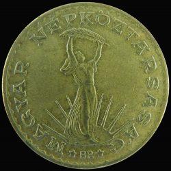 Magyarország-1983-1989-10 Forint-Bronz-Aluminium-VF-Pénzérme