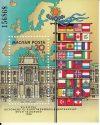 Magyarország-1986 blokk-Európai Biztonsági és Együttműködési Konferencia-UNC-Bélyegek