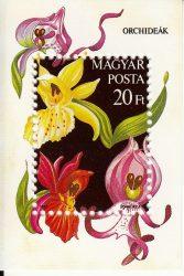 Magyarország-1987 blokk-Orchideák-UNC-Bélyegek