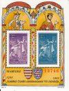 Magyarország-1995 blokk-Árpádházi Szent Erzsébet-Piros sorszám-UNC-Bélyeg