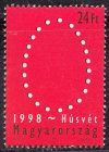 09.Magyarország-1998-Húsvét I-UNC-Bélyeg