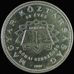Magyarország-2007-50 Forint-Réz-Nikkel-VF-Pénzérme