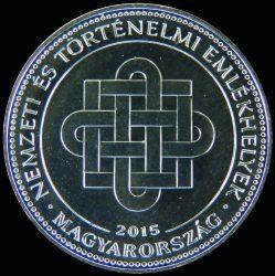 Magyarország-2015-50 Forint-Réz-Nikkel-UNC-Pénzérme