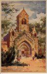 Képeslap-Ják-Templom