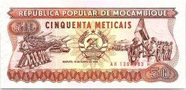 Mozambik 1986. 50 Meticais-UNC