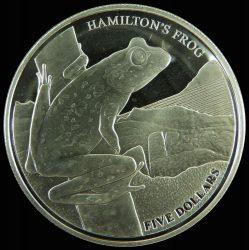 Új Zéland-2008-5 Dollar-Ezüst-Pénzérme