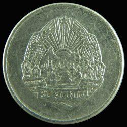 Románia-1975-5 Bani-Aluminium-VF-Pénzérme