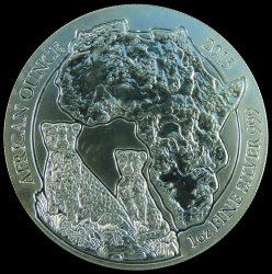 Ruanda-2013-50 Francs-Ezüst-Pénzérme