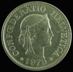 Svájc-1960-2003-10 Rappen-Réz-Nikkel-XF-Pénzérme