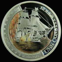 Tuvalu-2012-1 Dollar-Ezüst-Pénzérme