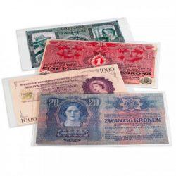 Bankjegyvédő tokok, filatasakok